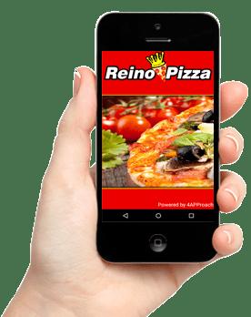 Baixe o Aplicativo da Reino Pizza